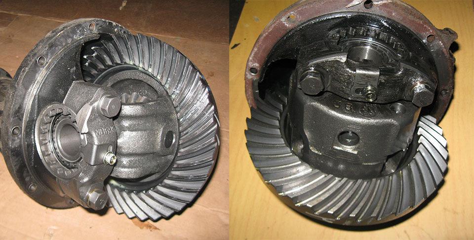 Передний и задний редуктор H233B для Nissan Safari и Patrol