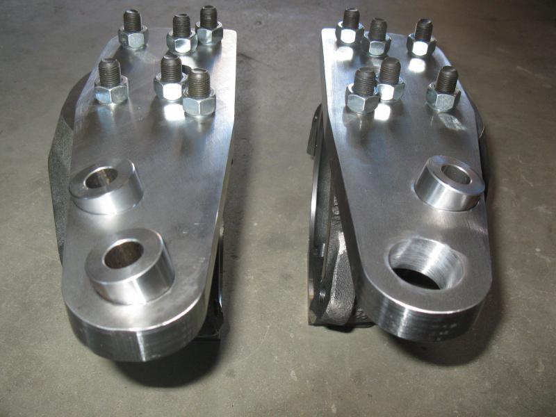 Усиленные кулаки и сошки Hellfire Fabworks JTOTLC80-KNUCKLES для Toyota  Land Cruiser 80